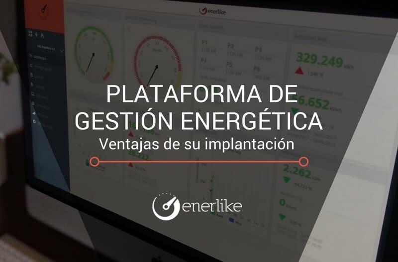 Implantación plataforma de gestión energética