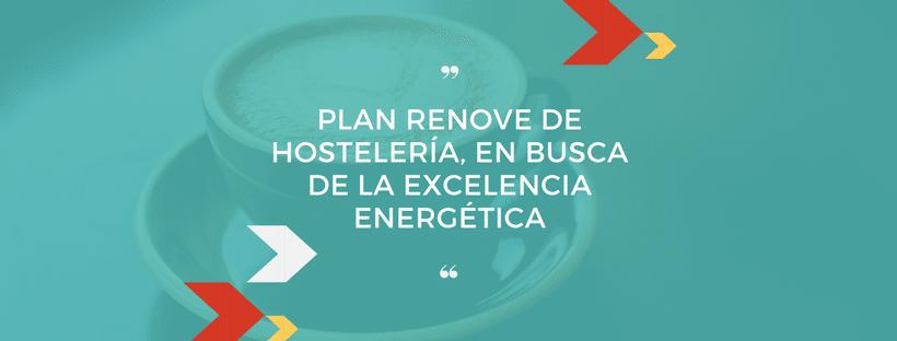 Plan Renove Hostelería